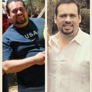 testimonio bajar de peso
